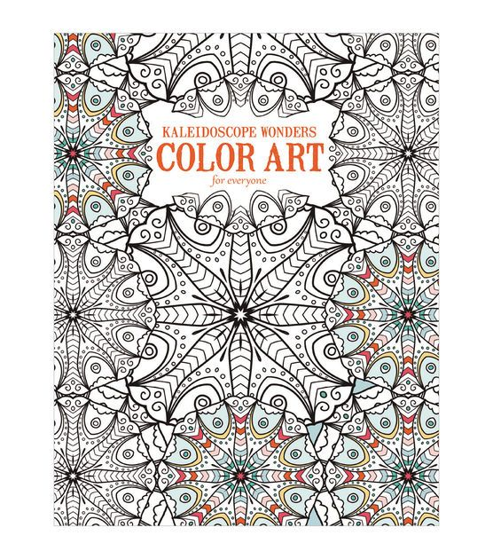Adult Coloring Book-Leisure Arts Kaleidoscope Wonders | Colorante ...
