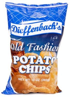 Dieffenbach\'s Old Fashioned Potato Chips. Best Lard Chip Ever Made!