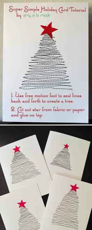 DIY christmas cards: