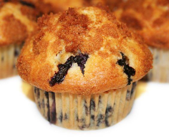 La Cuisine de Bernard: Les Muffins aux Myrtilles