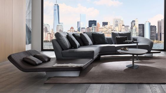 Segno Sofa Chaise Longue Reflex Spa Giving A New Expression And A Different Meaning To The Crysta In 2020 Italian Sofa Designs Sofa Design Luxury Italian Furniture