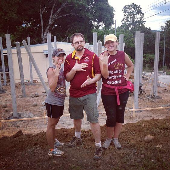 Cobbers representing Habitat for Humanity in Costa Rica! #cordmn