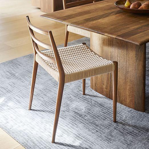 Anton Solid Wood Dining Table Burnt Wax Leather Dining Chairs Dining Chairs Wood Dining Chairs