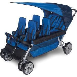 LX6 Daycare Stroller - Six Seats at SCHOOLSin