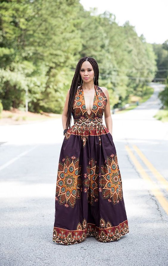 African print maxi dress by melangemode on etsy african for Print maxi dress for wedding