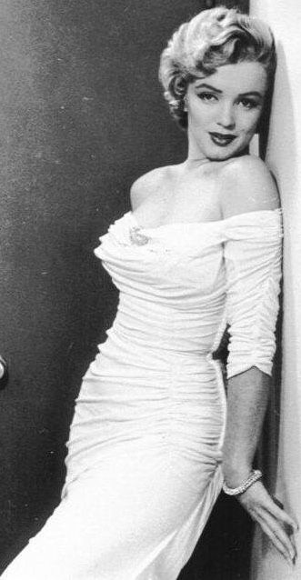 The beautiful Marilyn Monroe