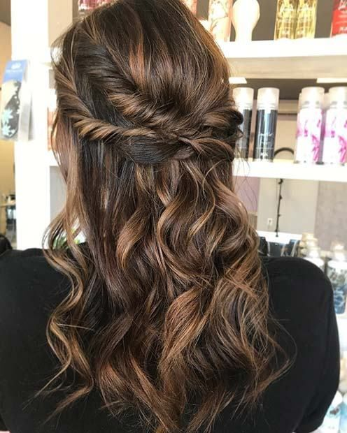 21 Cute Hairstyle Ideas For The Holidays Party Hairdo Holiday Party Hair Hair Styles