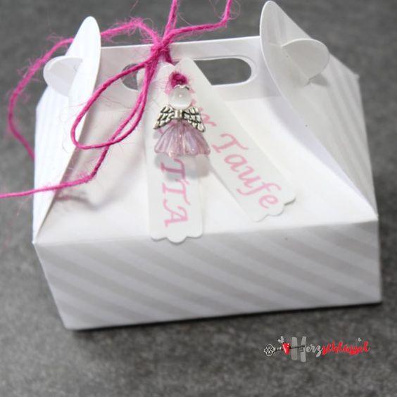 Herzschlüssel: Taufring Verpackung 3. Box, Schachtel, Stampin Up, Sizzix, Big Shot, Glasperlen, Elfe, Engel, glass beads, lampwork