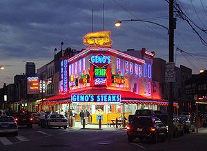 Geno's in Philly..mmmm