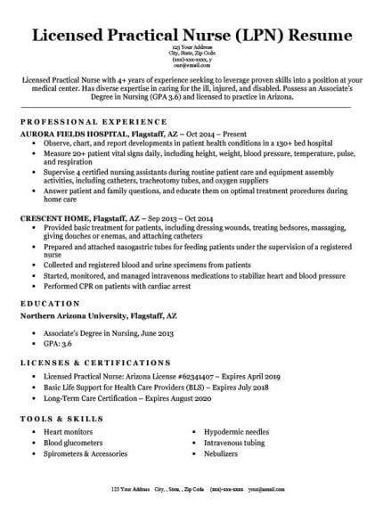 Entry Level Nursing Student Resume Sample Tips Student Resume Template Student Resume Nursing Student Resume