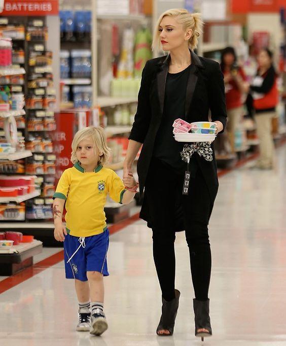 Amor! Gwen Stefani e Zuma (Foto: SPlash News)