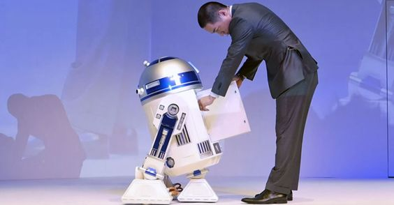 Now you can have your own Star Wars helper droid, thanks to Haier Asia's new remote-controlled R2-D2 refrigerator.