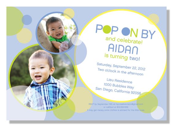 Pinterest The worlds catalogue of ideas – Bubble Invitations Birthday