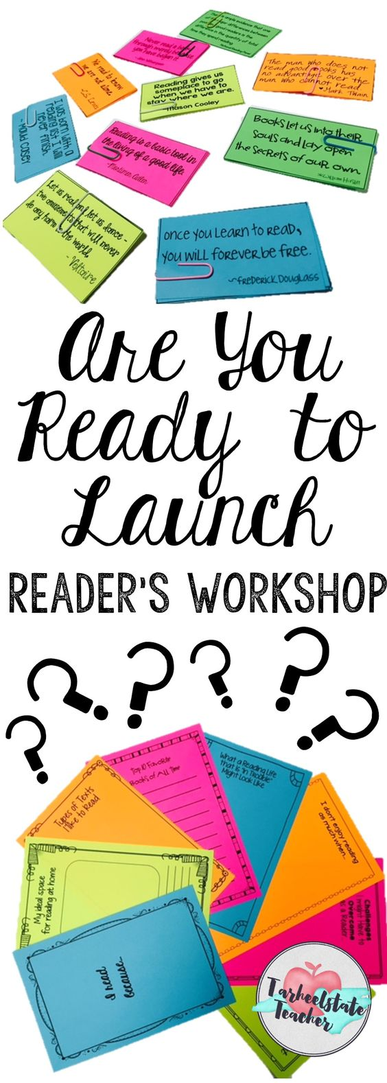Get ready to Build a Reading Life in your reader's workshop this year. Anchor chart parts, reading response journal/notebook prompts, quotations about reading-everything you need to create a love of reading and LAUNCH upper elementary workshop this year!