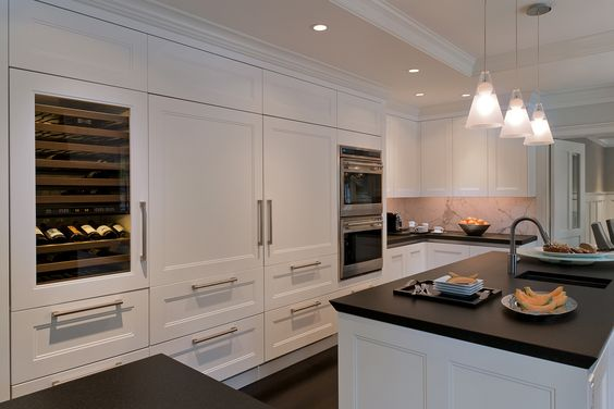 Wright Building Company: Company Kitchens, Drawers Kitchens, White Kitchen, Beautiful Kitchens, Creative Kitchens, Cuisine Kitchens, Black Kitchens
