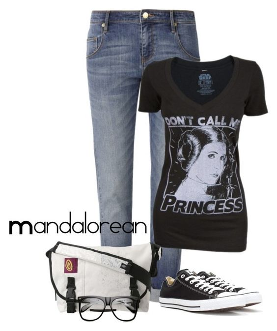 """""""Geeking out in my Boyfriend Jeans"""" by mandalorean ❤ liked on Polyvore featuring sass & bide, Converse, Retrò, Timbuk2 and INDIE HAIR"""