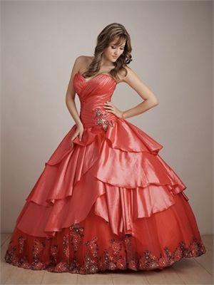 Quinceanera Dresses QC102 - Coral