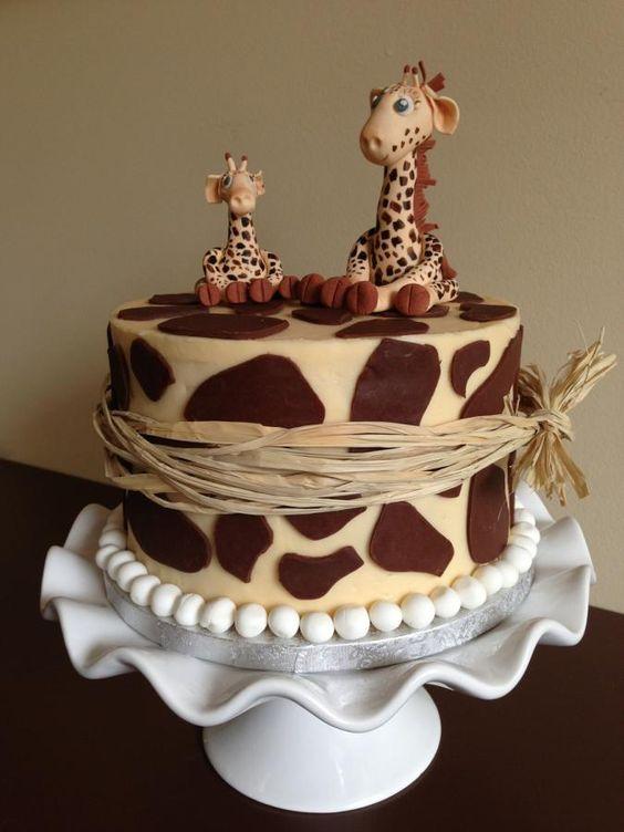 Giraffe cake: