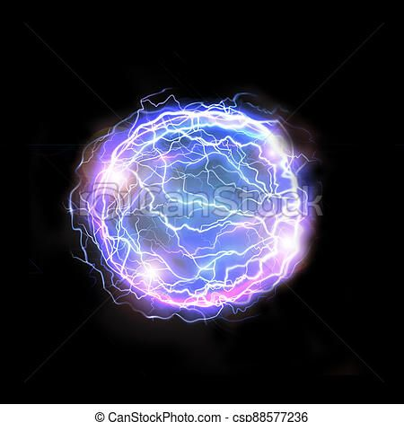 Blue Lightnings Plasma Ball Isolated On Black Background Power Background Blue Electrical Flash In 2021 Blue Lightning Ball Drawing Poster Prints