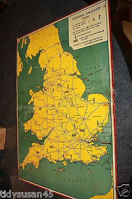 #Vintage #1930's touring england game board - #geographia,  View more on the LINK: 	http://www.zeppy.io/product/gb/2/182088141267/