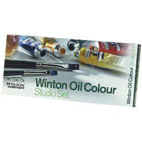 Winsor & Newton Winton Oil Paint Studio Set $40.98