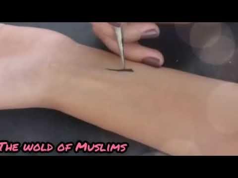 نقش حناء سهل و بسيط تاتو حناء ناعم للفتيات تعلمي النقش Youtube Henna Tattoo Henna Youtube