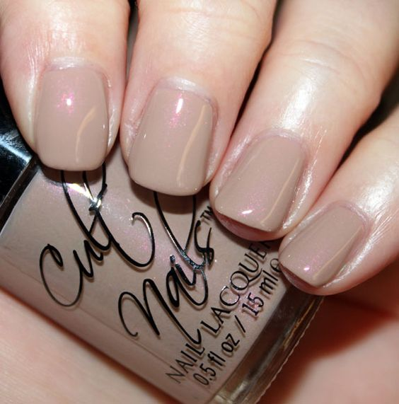 Cult Nails - Cruisin' Nude (<3 & NEED the pink shimmer!!!)