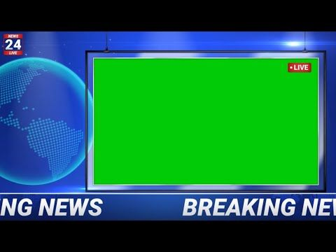 Breaking News Green Screen Background Youtube Green Screen Backgrounds Greenscreen Green Screen Video Backgrounds