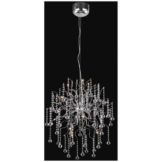 Elegant Lighting Astro Chrome Chandelier