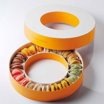 Packaging pour 24 macarons