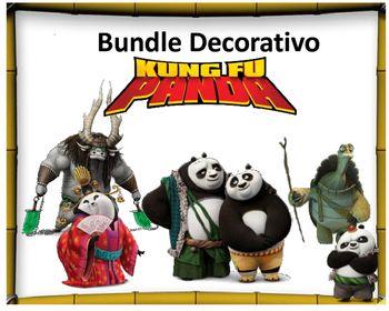 El siguiente Bundle decorativo es de 43 pginas coloridas sobre Kung Fu PandaContiene lo siguiente4 carteles cmo esta el da…