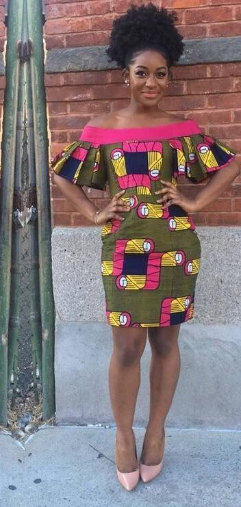 Love This And Wanna Make It Or You Re A Fashion Designer Looking For Good Tailors To Work Wi African Fashion Short Ankara Dresses African Print Fashion Dresses
