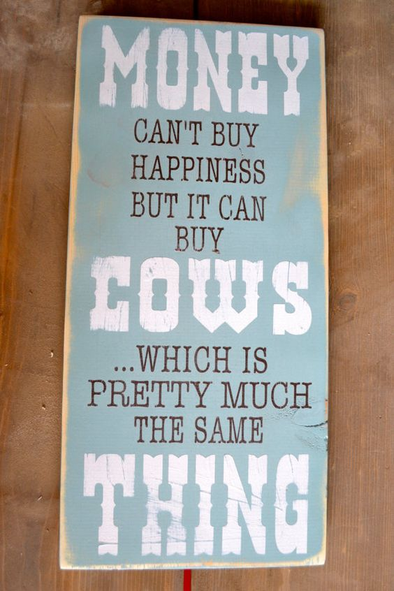 Barn Signs Decor Cow Sign Farmer Barn Wood Rustic Signs Cow Quotes Art