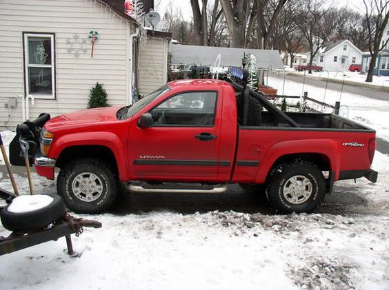 Gmc Canyon Regular Cab Red Color Oto Picture Regular Cab Gmc Canyon Gmc