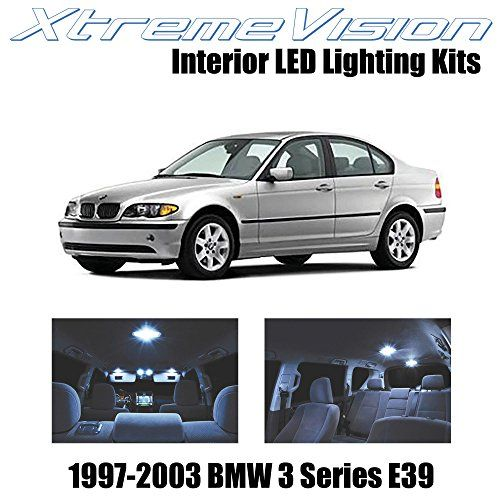 Xtremevision Interior Led For Bmw 5 Series E39 1997 2003 14 Pieces Cool White Interior Led Kit Installation Tool Led Kit Lincoln Town Car Led Light Kits