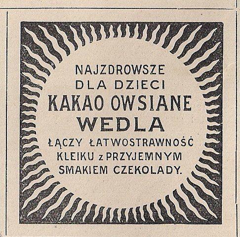 Przedwojenna Reklama I Ogloszenia 1918 1939 Matzo Bread