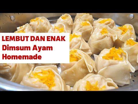 Dimsum Ayam Lembut Dan Empuk Youtube Resep Masakan Ramadhan Makanan Dan Minuman Resep Makanan