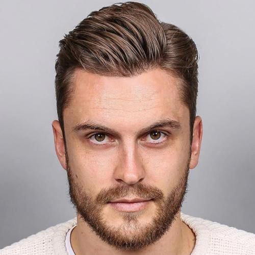 Side Part Men S Haircut Menshaircuts Mens Haircuts Short Mens Hairstyles Short Side Part Mens Haircut