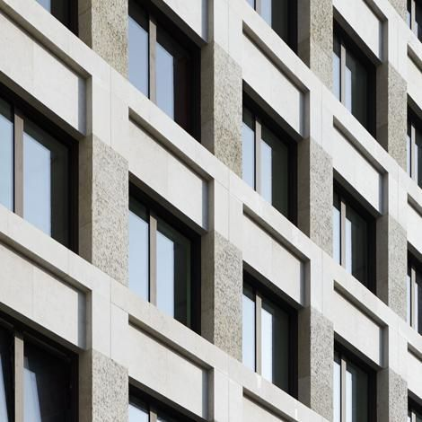 Max Dudler Architekt - Fassade AvD Palais Leipziger Platz Berlin