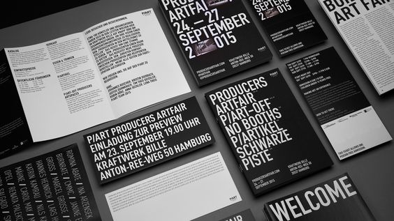 (via P/ART producers artfair - corporate design on Behance)