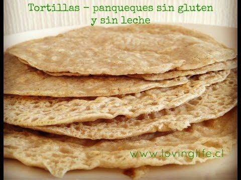 como hacer panqueques - burritos sin gluten, sin huevos y sin leche  #66