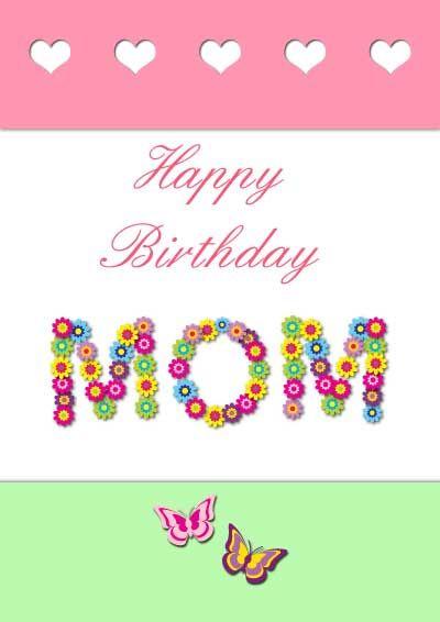 free printable grandma bday card to color – Free Birthday Card Printable Templates