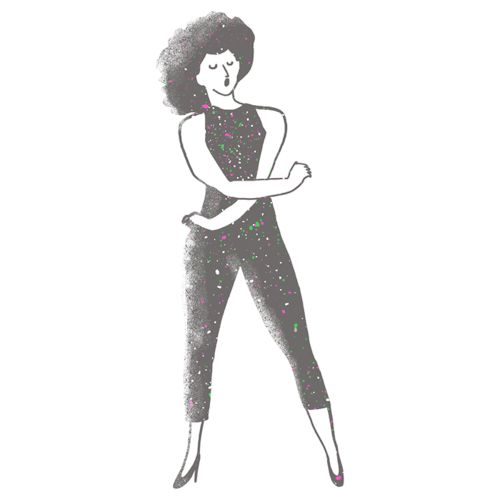 Rosie Pérez animación ilustración tumblr tren alma ofrecido