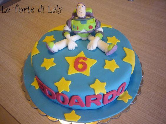 Le Torte Di Laly Toy Story Cake Buz Lightyear fatta per mio figlio!!