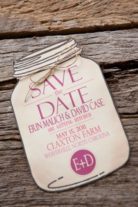 this save the date is soo cute!