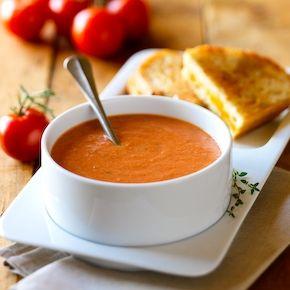 Creamy Tomato Soup  (soy recipe)