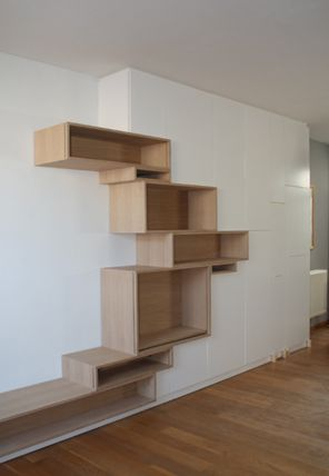 Would love to try making these shelves in black