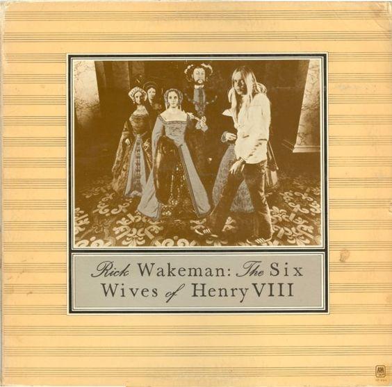 Rick Wakeman – The Six Wives Of Henry VIII (1972) #VinylTrails