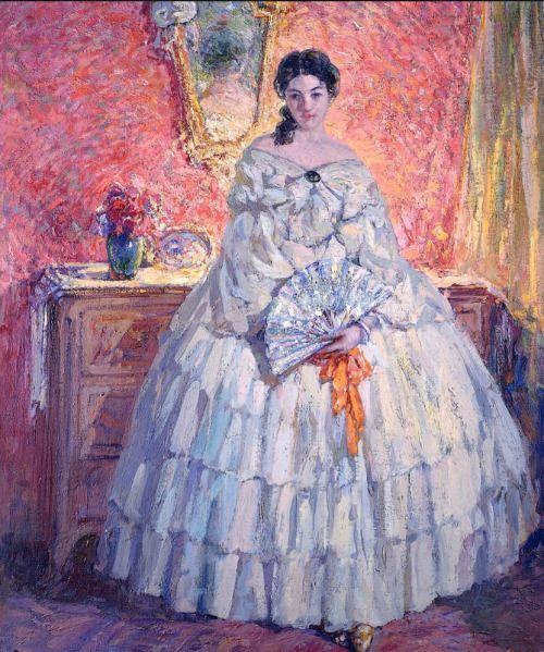 fleurdulys:  Portrait of Ninette - Ulisse Caputo:
