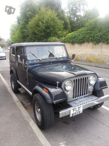 Jeep laredo cj7 annee 1983 noir Voitures Loiret - leboncoin.fr